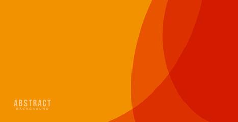 orange background design . abstract orange banner vector illustration