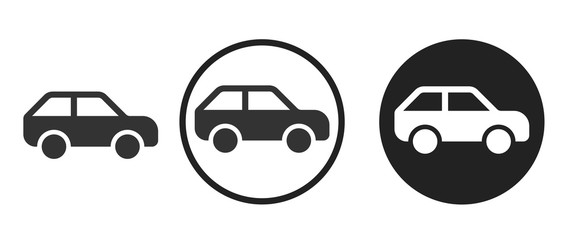 car icon . web icon set .vector illustration
