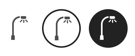 Street light icon . web icon set .vector illustration Fotomurales