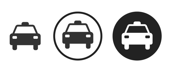 taxi icon . web icon set .vector illustration