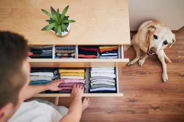Organizing and cleaning home