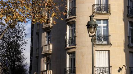 old street lamp in Paris