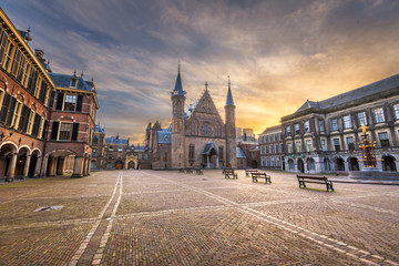 Fototapete - The Hague, Netherlands at the Ridderzaal