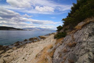 Fototapeta  Landscapes by the sea in Croatia obraz