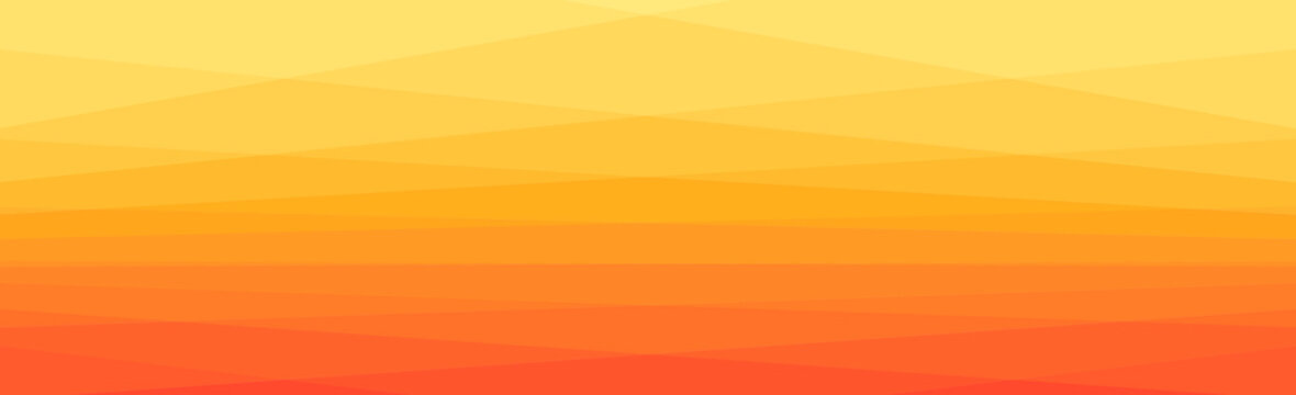 Yellow to orange transition