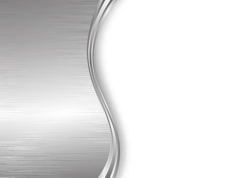 metal brushed background with copy space
