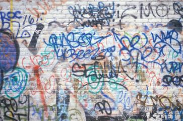 Graffiti on a New York City wall