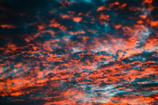 Colorful Cloud Sunset