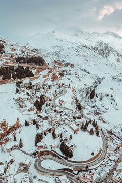 Mountain Village Switzerland