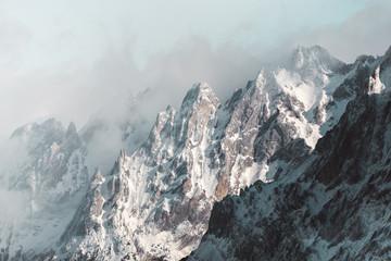Jagged Mountain Edges