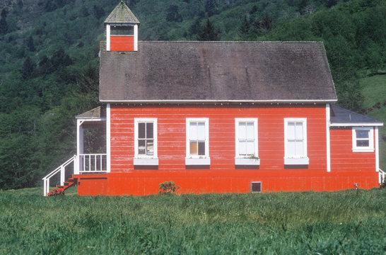 Little Red Schoolhouse, Northern CA