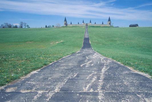 Road leading to a castle, Lexington, KY