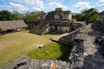 Ek' Balam archaeological site in Yucatán, Mexico