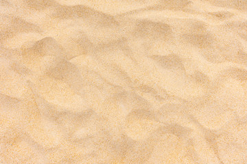 Wall Mural - Background and texture, Top view of beach sand texture as background. sand in summer sun.