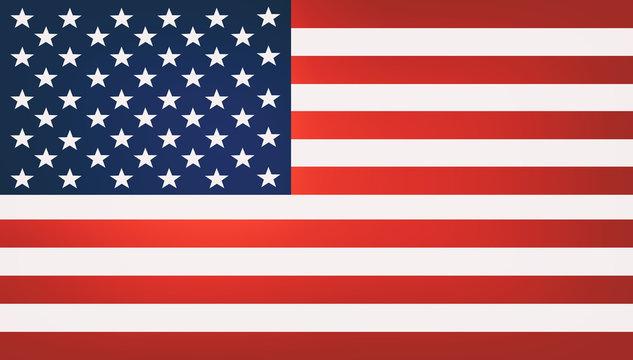 USA United States of America flag illustration background