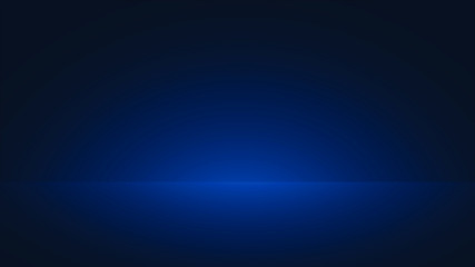 blue empty room background , free space for design illustration vector