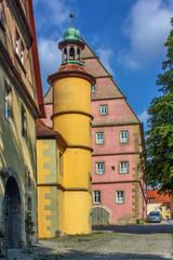 Wall Mural - Tower of Hegereiterhaus, Rothenburg ob der Tauber, Germany