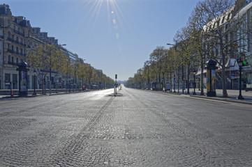 Poster de jardin Paris Arc of Triumph Paris