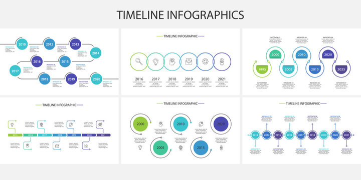 Creative concept for infographic with 5, 6, 7, 9, 10 steps, options, parts or processes. Business data visualization
