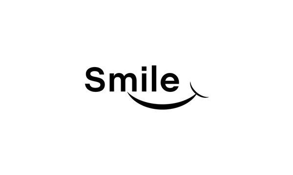 smile ,smile logo design vector, smile logo, smile design, smile vector,