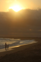 Foto auf AluDibond Wuste Sandig Beach