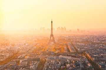 Poster de jardin Paris eiffel tower in paris