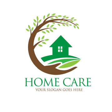 home and farm care logo designs