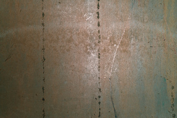 Wall Mural - Dirty Rusty Grunge Metallic Iron Background Abstract Texture.