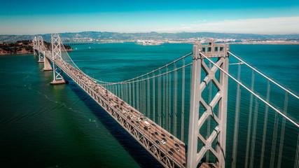 bay bridge Fotomurales