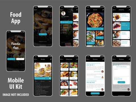 Food Recipes App Ui Kit