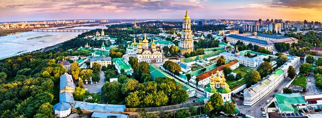 Printed roller blinds Kiev Aerial view of Pechersk Lavra in Kiev. UNESCO world heritage in Ukraine
