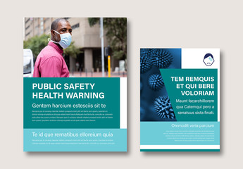 Public Safety Health Flyer Layout