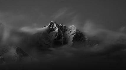 Snow Mountain Peak Fotoväggar
