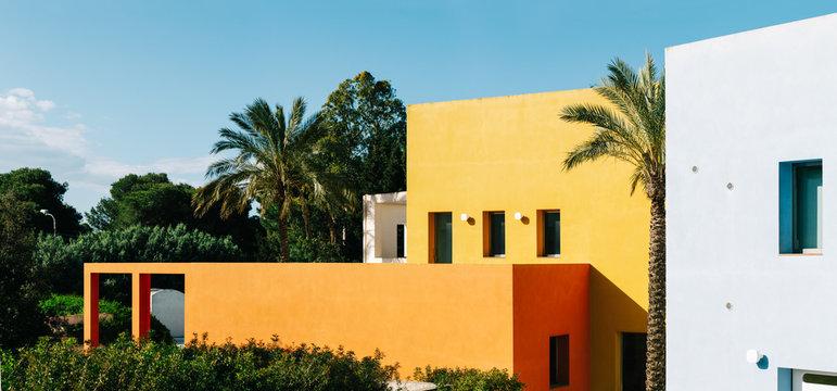 Colorful Mediterranean Architecture