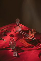 Foto op Canvas Historisch mon. Still life study/feast set up