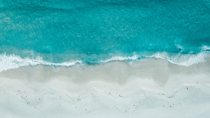 ocean meets sand Fotobehang