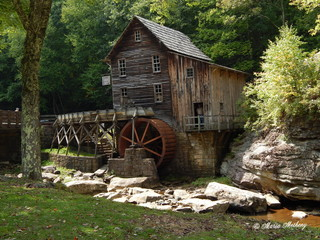 Photo sur Toile Moulins Scenery and Landscapes from West Virginia
