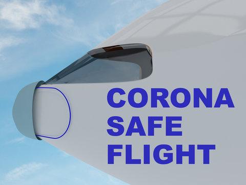 CORONA SAFE FLIGHT concept