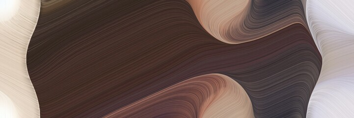 abstract moving header with old mauve, light gray and rosy brown colors. fluid curved lines with dynamic flowing waves and curves Fototapete