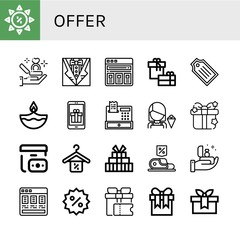 offer simple icons set