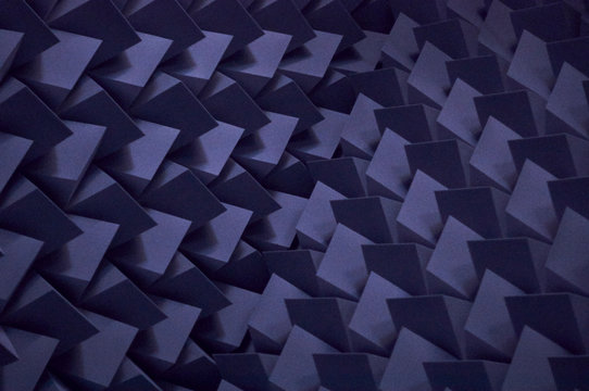 Soundproof wall in recording studio