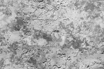 Fototapete - Old grungy concrete wall texture with damaged paint