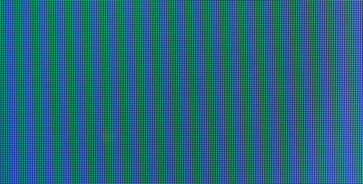 Abstract blue pixel background with smooth blurred transition