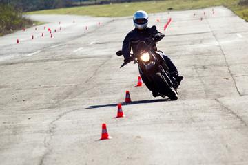 Cours moto Ecole Fototapete