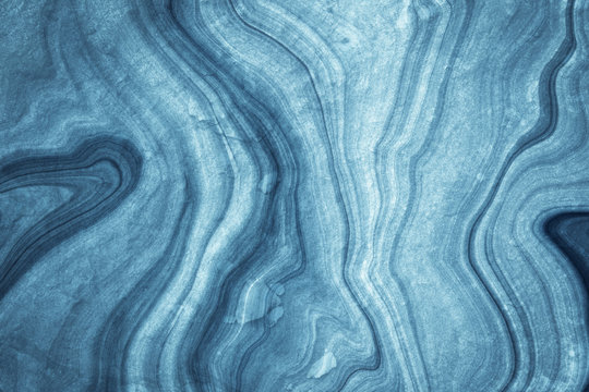 dark blue marble pattern texture abstract background / texture surface of marble stone from nature / can be used for background or wallpaper