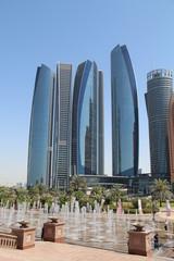 Canvas Prints Abu Dhabi Abu Dhabi, (vue ethiad tower)