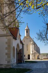 Fotomurales - church in Znojmo, South Moravia Czech Republic
