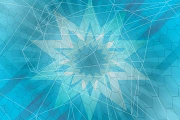 Tuinposter Decoratief nervenblad abstract, blue, wallpaper, wave, design, light, illustration, art, curve, backdrop, line, graphic, texture, pattern, digital, color, backgrounds, water, waves, lines, motion, shape, abstraction, image