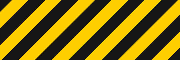 Stripe line background vector illustration. Diagonal yellow and black stripe lines pattern. Abstract geometric striped texture. Geometric style. Textile design texture.