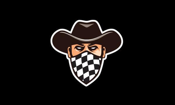logo design for the race bandit